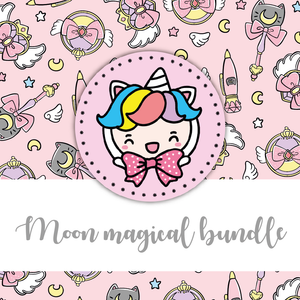 NO CODE: Moon magical foxigirl themed Bundle-about 20% less! LIMITED Bundles only