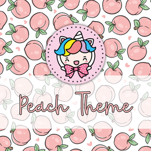 Peach foxigirl themed Bundle-about 20% less! LIMITED Bundles only