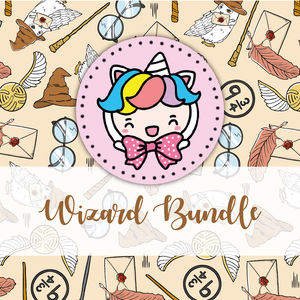 NO CODE: Wizard foxigirl themed Bundle-about 20% less! LIMITED Bundles only