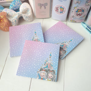 Theme park Foxigirl Sticky Notes