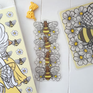 Bee clear bookmark-LIMITED QUANTITES ONLY