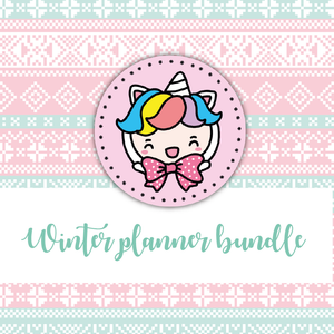 Winter planning foxigirl themed Bundle-about 25% less! LIMITED Bundles only