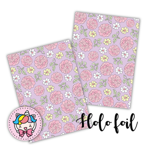 Star Foiled floral foxigirl dashboard-LIMITED TIME ONLY
