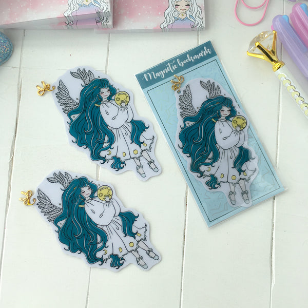 NEW PRODUCT! Moon phase foxigirl Bookmark-LIMITED QUANTITIES ONLY!!-NOT IN THE BUNDLE