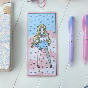 Sailor girl writing/pencil board for hobonichi-LIMITED QUANTITIES ONLY
