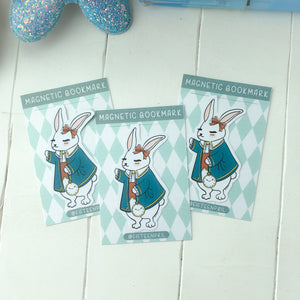 Alice rabbit magnetic bookmark-LIMITED QUANTITES ONLY