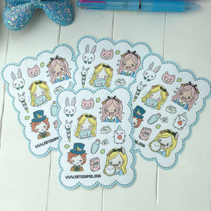 Alice cutie foxigirl sticker
