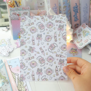 "Moon magical foiled dashboard- 5x7""/B6"