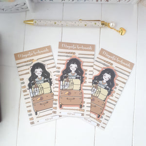 Wizard foxigirl magnetic bookmark-LIMITED QUANTITES ONLY