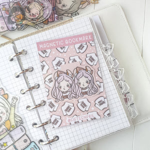 Planner twin magnetic bookmark-LIMITED QUANTITES ONLY