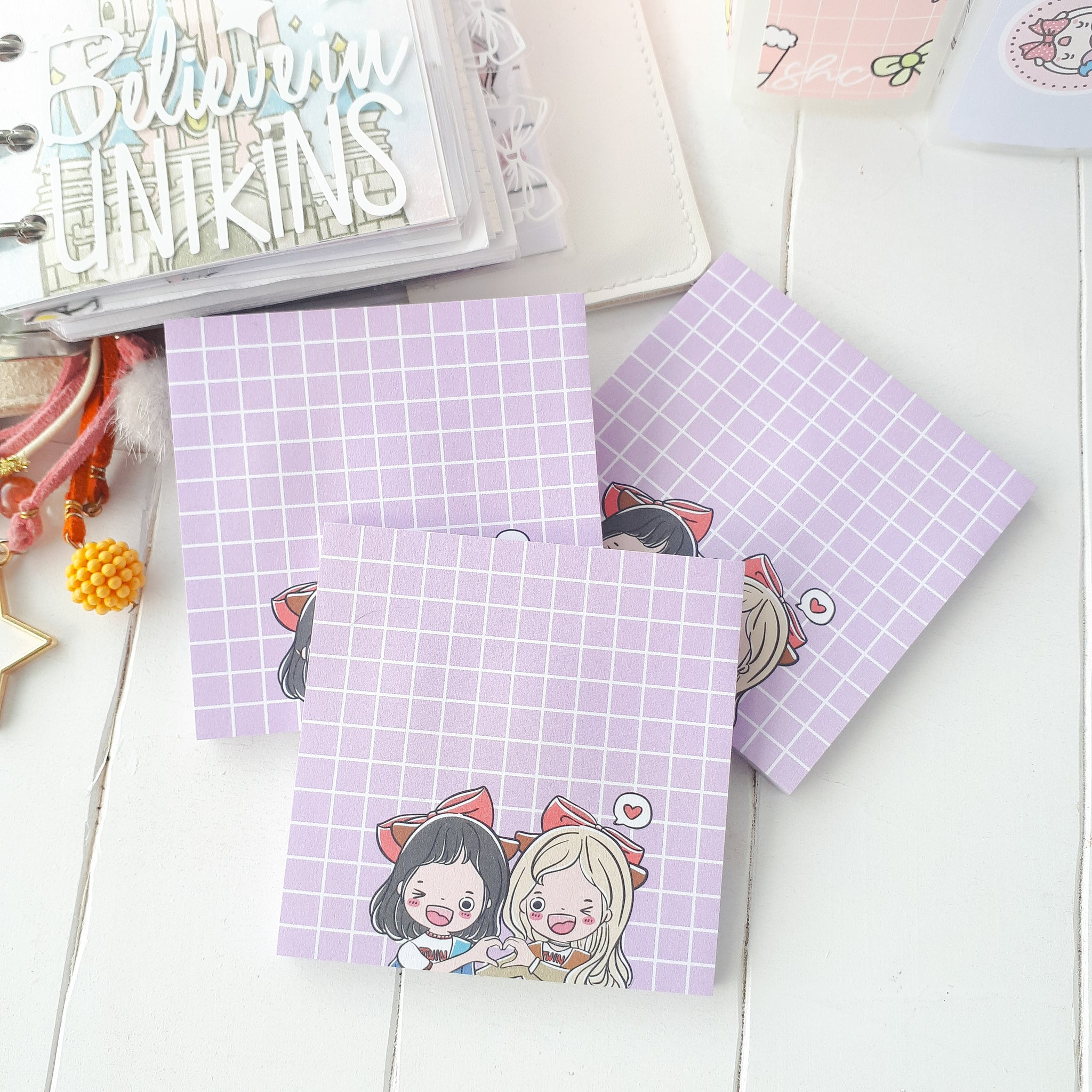 Planner twin Foxigirl Sticky Notes