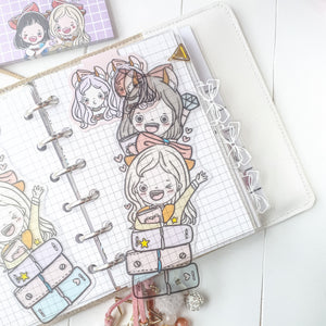 Planner twin clear bookmark-LIMITED QUANTITES ONLY