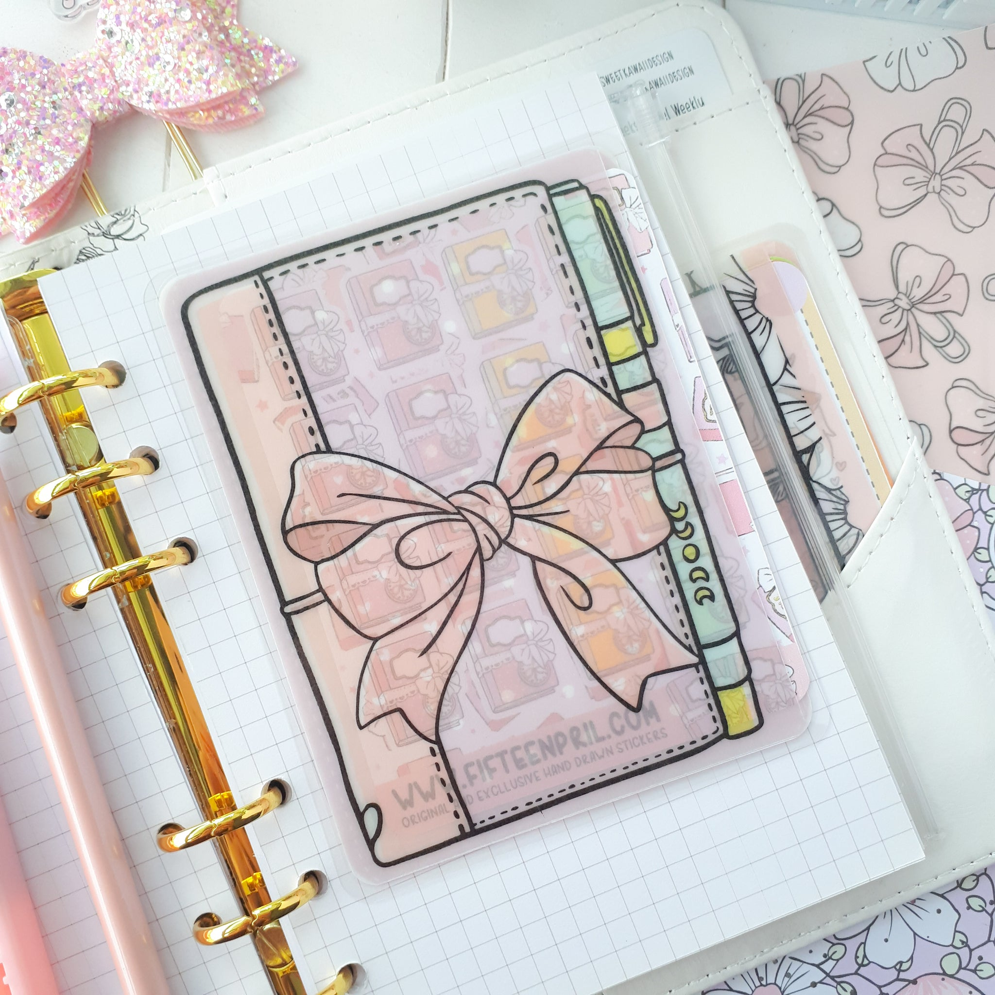 Pastel planner Sticker Pocket-VERY LIMITED QUANTITIES ONLY
