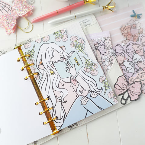 Pastel planner foxigirl shaped dashboards