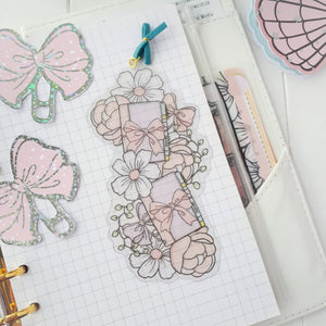 Pastel planner clear bookmark-LIMITED QUANTITES ONLY