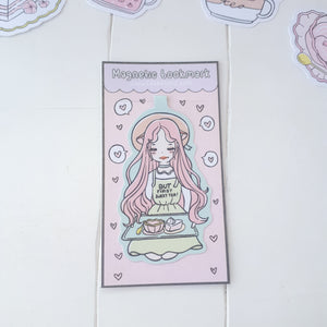Tea time foxigirl magnetic bookmark-LIMITED QUANTITES ONLY
