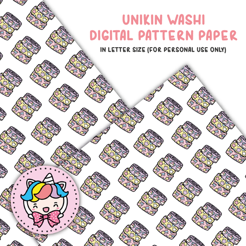 Unikin washi digital paper (digital files only)