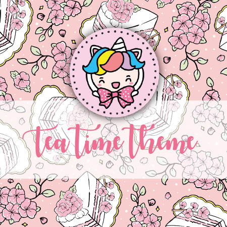 NO CODE: Tea time foxigirl themed Bundle-about 25% less! LIMITED Bundles only