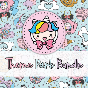 theme park foxigirl themed Bundle-about 20% less! LIMITED Bundles only