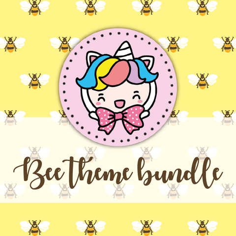 Bee themed Bundle-about 20% less! LIMITED Bundles only