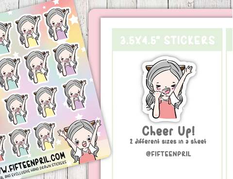 F004-Cheer up Foxigirl sticker