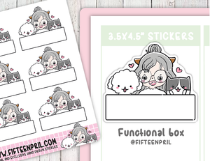 F064-Functional boxes -Fur kids