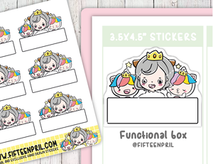 F064-Functional boxes -Planner queen