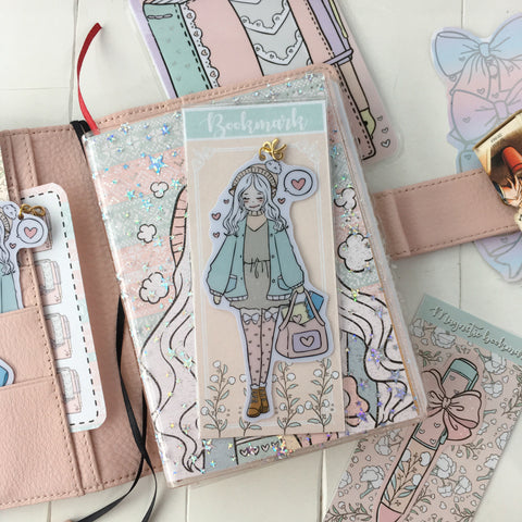 NEW PRODUCT! Winter planning foxigirl Bookmark-LIMITED QUANTITIES ONLY!!