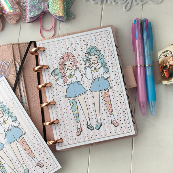 Twin planning- Twin star inspired themed Bundle-about 25% less! LIMITED Bundles only