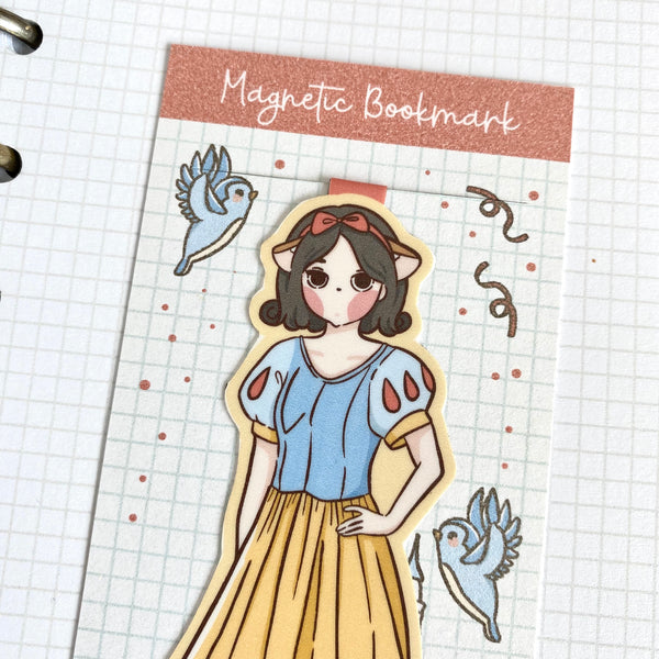 Princess foxigirl magnetic bookmark-LIMITED QUANTITES