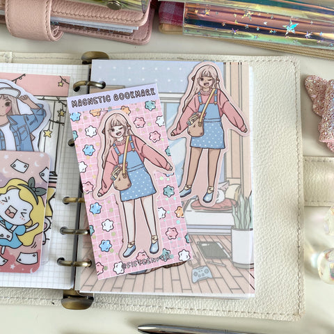 Snack bag foxigirl magnetic bookmark-LIMITED QUANTITES ONLY-Not in the bundle