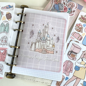 Princesses foxigirl Sticker Book