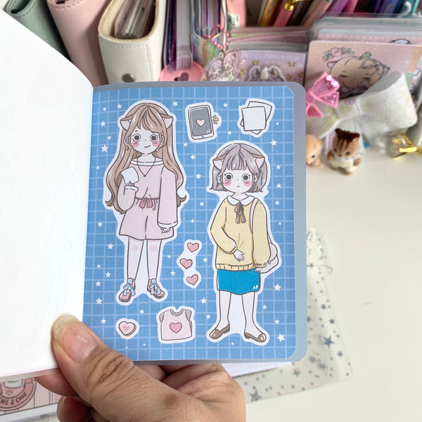 Full body Foxigirl Sticker book-LIMITED QUANTITIES