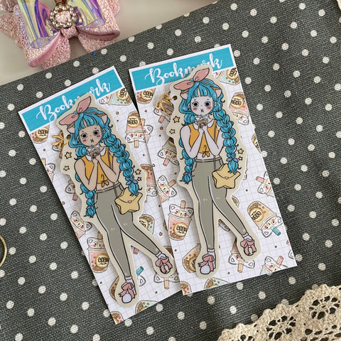 Boba tea foxigirl Bookmark-LIMITED QUANTITIES ONLY!!