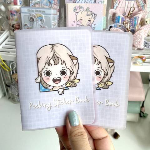 Peeking Foxigirl Sticker book-LIMITED QUANTITIES