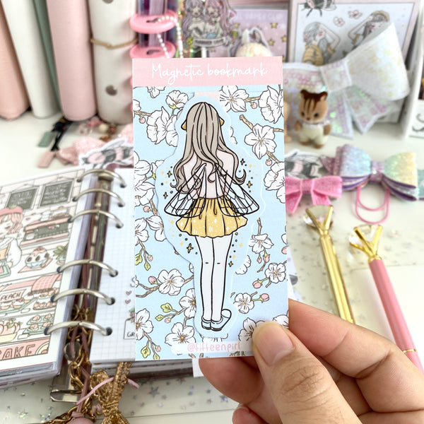 Bee wing foxigirl magnetic bookmark-LIMITED QUANTITES ONLY