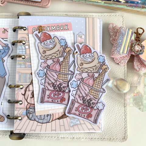 Snack themed Bookmark-LIMITED QUANTITIES ONLY!!- NOT IN THE BUNDLE