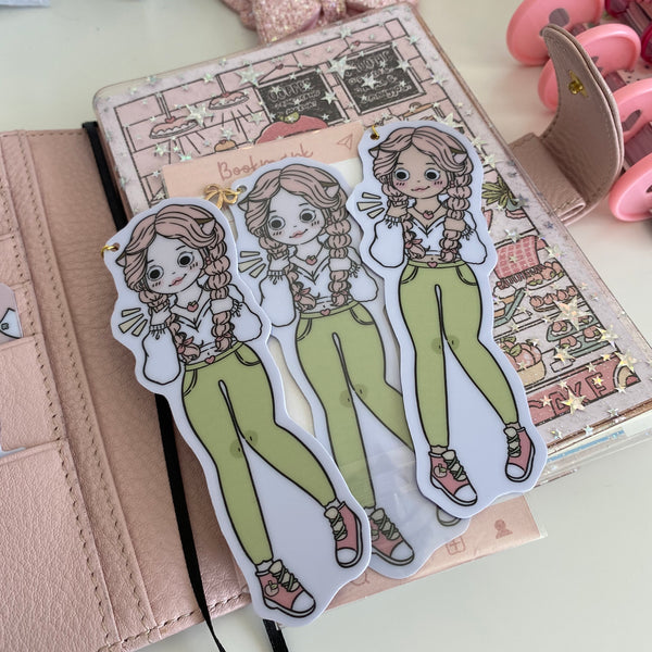 NEW PRODUCT!  Peach foxigirl 2 Bookmark-LIMITED QUANTITIES ONLY!!