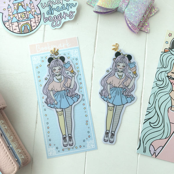 NEW PRODUCT! Theme park foxigirl Bookmark-LIMITED QUANTITIES ONLY!!