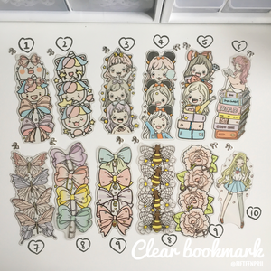 clear bookmark-FINAL STOCK