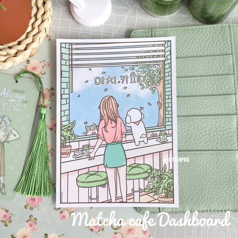 Matcha cafe foxigirl Dashboard