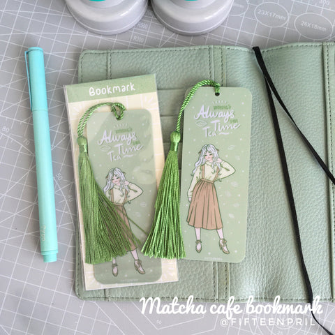 Matcha cafe Foxigirl foxigirl Bookmark
