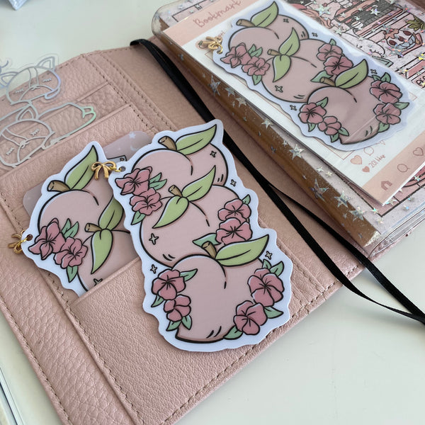 NEW PRODUCT!  Peach foxigirl Bookmark-LIMITED QUANTITIES ONLY!!