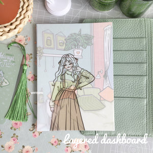 Matcha cafe foxigirl Layered Dashboard⭐️🌟