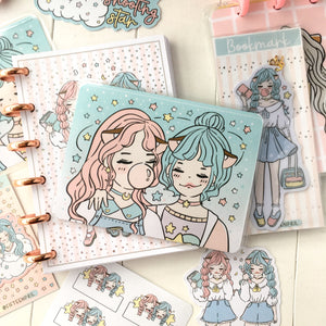 Twin planner clear Sticker Pocket- NOT included in the BUNDLE