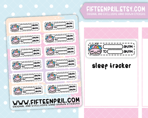 U048- Sleep tracker Unikin stickers