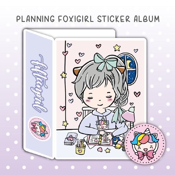 Planning foxigirl sticker album
