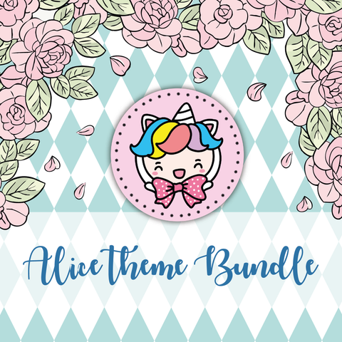 Alice inspired foxigirl themed Bundle-about 20% less! LIMITED Bundles only