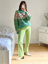Load image into Gallery viewer, Versace lime green pants