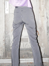 Load image into Gallery viewer, Striped metallic working pants